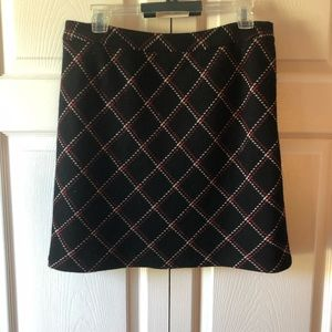 LOFT wool skirt with lining size 6